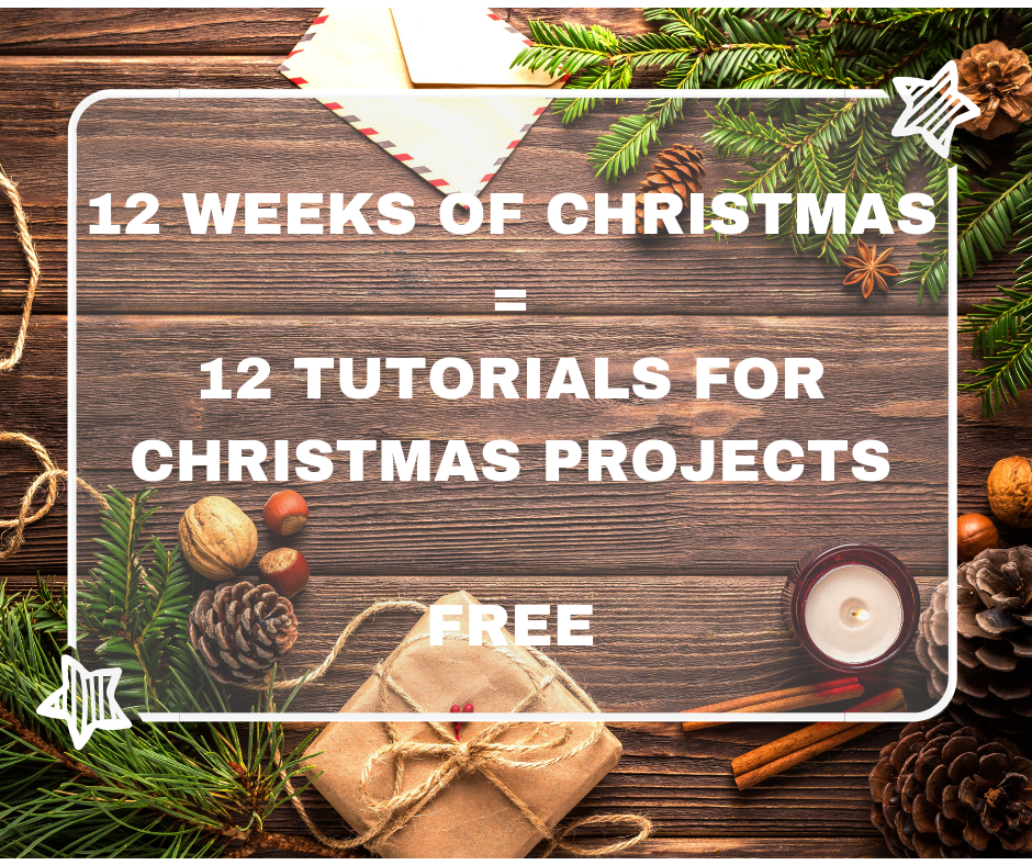 How Many Weeks To Christmas 2019.12 Weeks Christmas 2019 Sylvie Stamps Free Tutorial